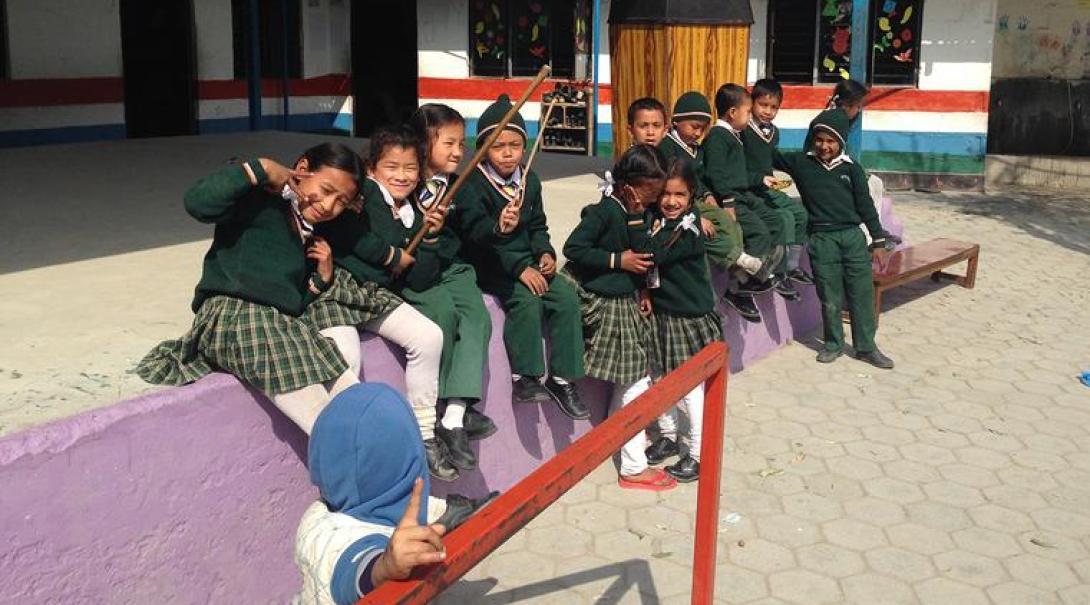Sociale zorg in Nepal door Pien K